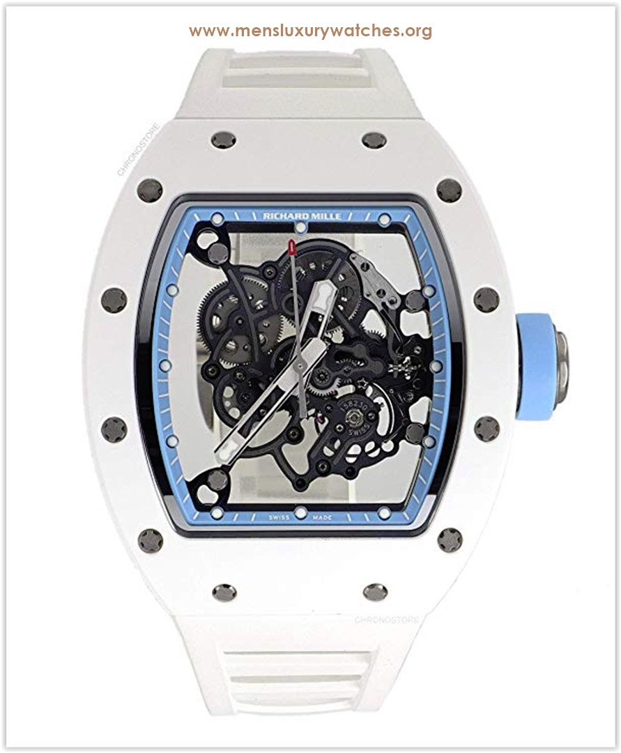 Richard Mille RM 055 Bubba Watson Asia Edition Ceramic Rubber Manual Wind Watch the best price