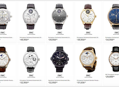 Best IWC luxury watches for men