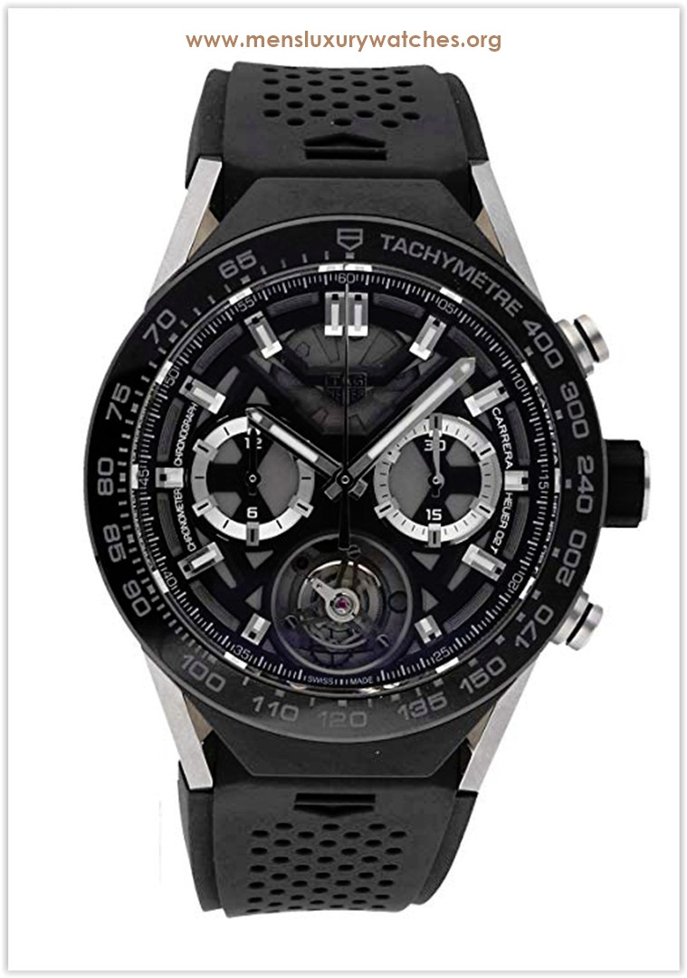 Tag Heuer Connected Quartz (Battery) Black Dial Men's Watch Price
