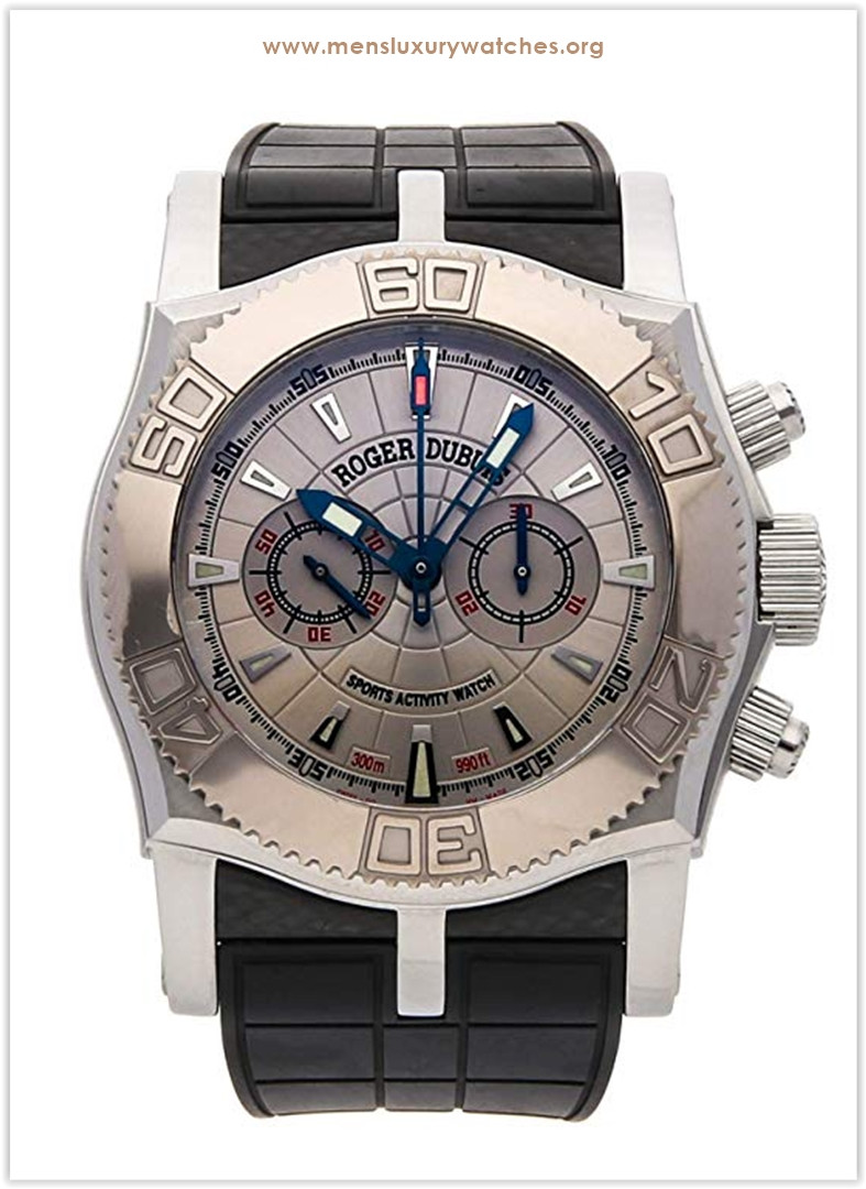 Roger Dubuis Easy Diver Mechanical (Hand-Winding) Silver Dial Men's Watch Price