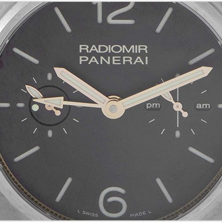 Officine Panerai Radiomir Tourbillon GMT Titanio