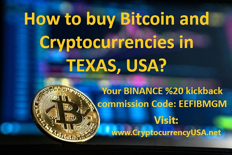 How to buy Bitcoin and cryptocurrencies in Texas, USA?