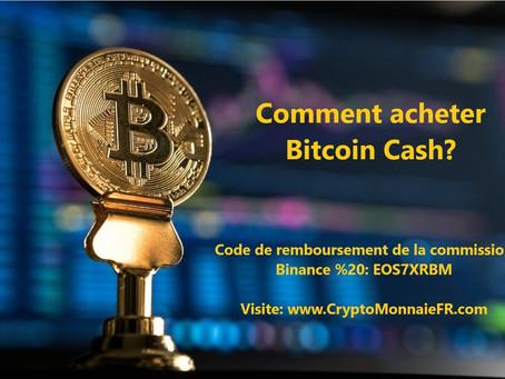 Comment acheter Bitcoin Cash?