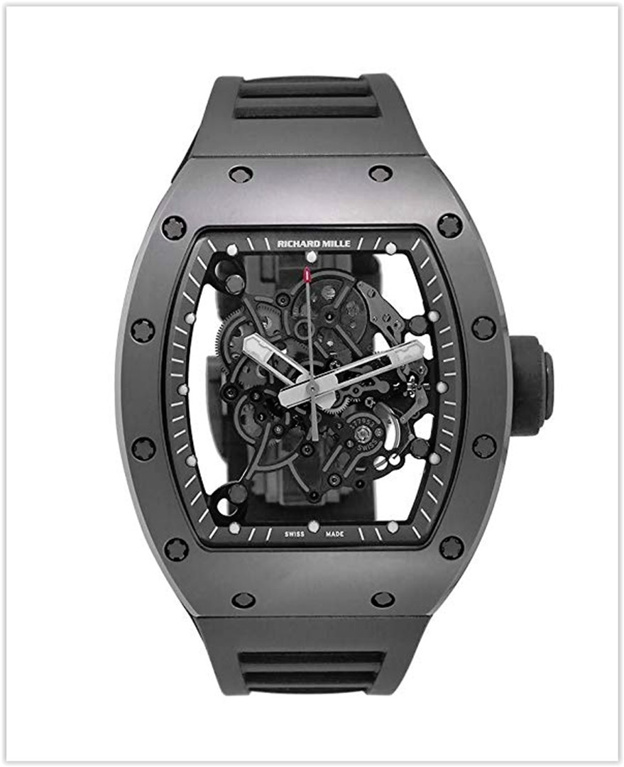 Richard Mille RM 055 Mechanical-Hand-Wind Male Watch RM055 best price