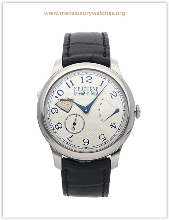 F.P. Journe Souverain Mechanical (Hand-Winding) Silver Dial Mens Watch Repetition SOUV Price May 2019