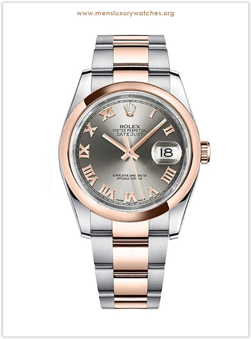 Rolex Datejust 116201 with grey dial Men's Watch the best price