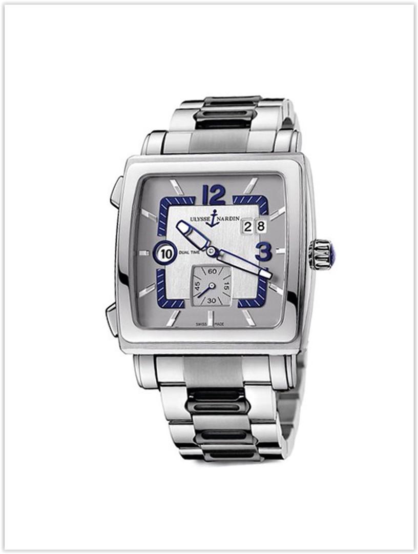 Ulysse Nardin Quadrato Dual Time 243-92-7M601 Men's Watch Price