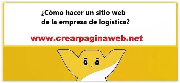 ¿Cómo hacer un sitio web de la empresa de logística?