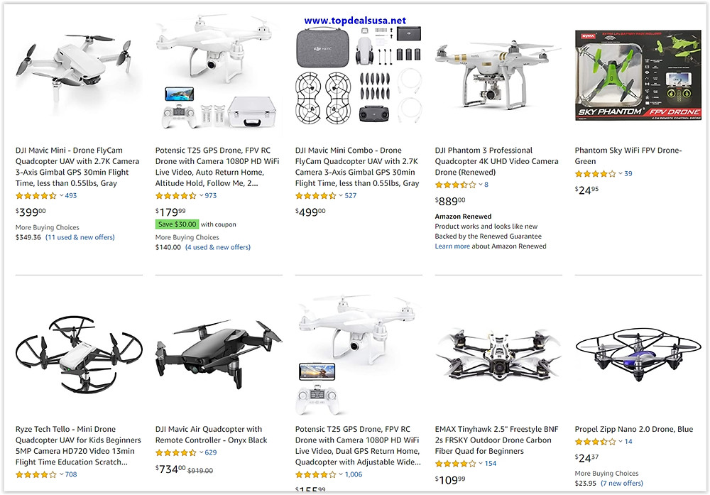 Top 10 Drone list, Which drone to buy