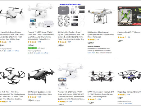 Top 10 Drone list, Which drone to buy?