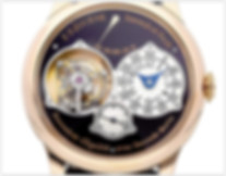 F.P. Journe Souverain Mechanical Black Dial Mens Watch Tourbillon Souverain