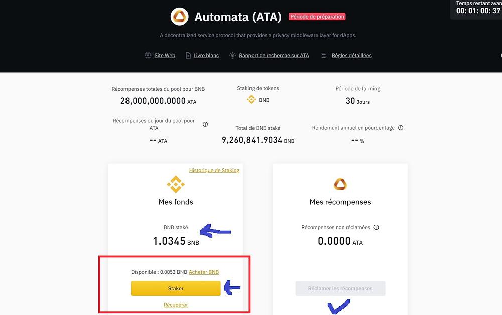 Qu'est-ce que le réseau Automata (ATA Coin) Comment acheter sur comment Binance