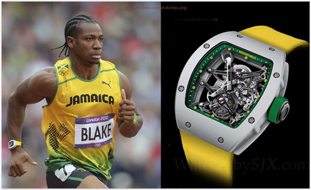 Yohan Blake Richard Mille Watches