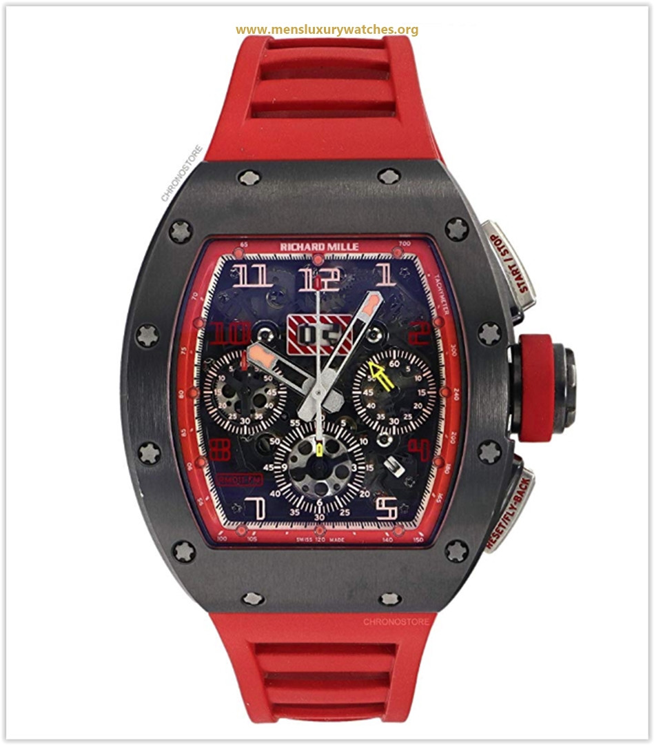 Richard Mille RM RED 011 Automatic-self-Wind Male Watch RM011 (Certified Pre-Owned)