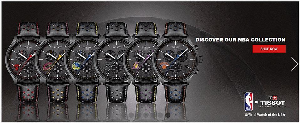 The Tissot Online Watch Store