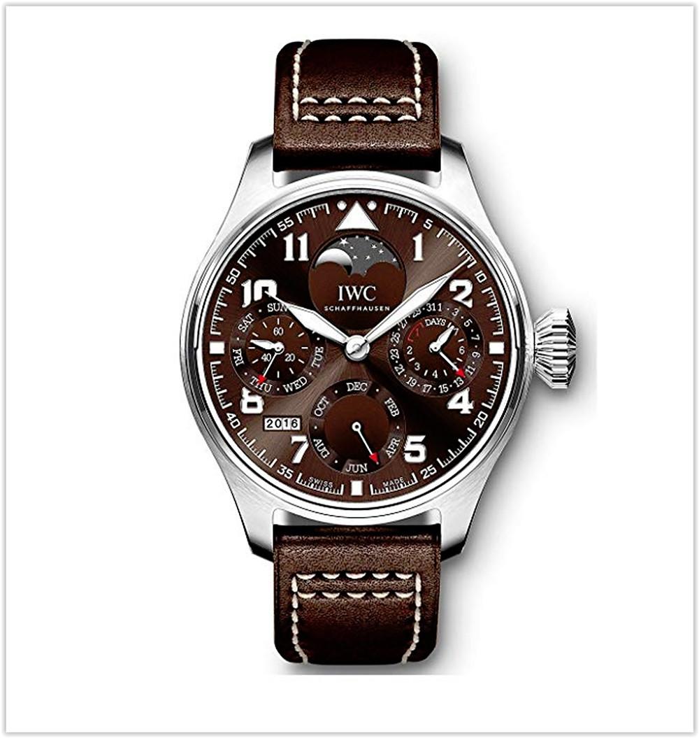 IWC Big Pilots Perpetual Calendar Stainless Steel 46mm Men's Watch best price