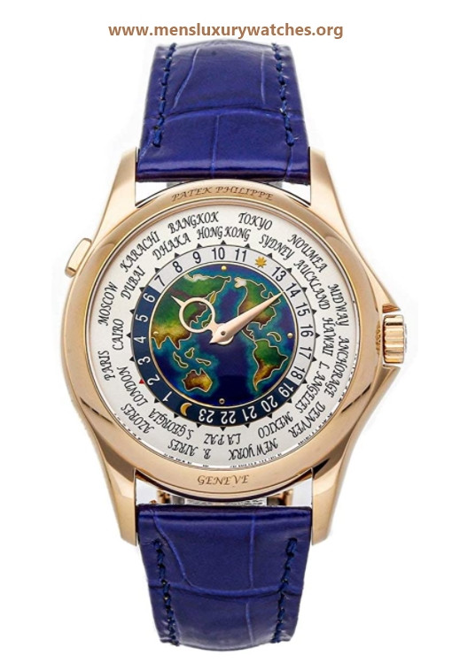 Patek Philippe Complications Mechanical(Automatic) Cloissonne Dial Watch 5131R-011 (Pre-Owned)
