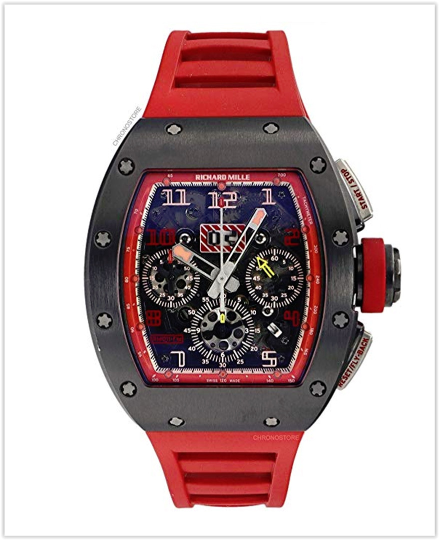 Richard Mille RM 011 Automatic-self-Wind Male Watch RM011 RED best price