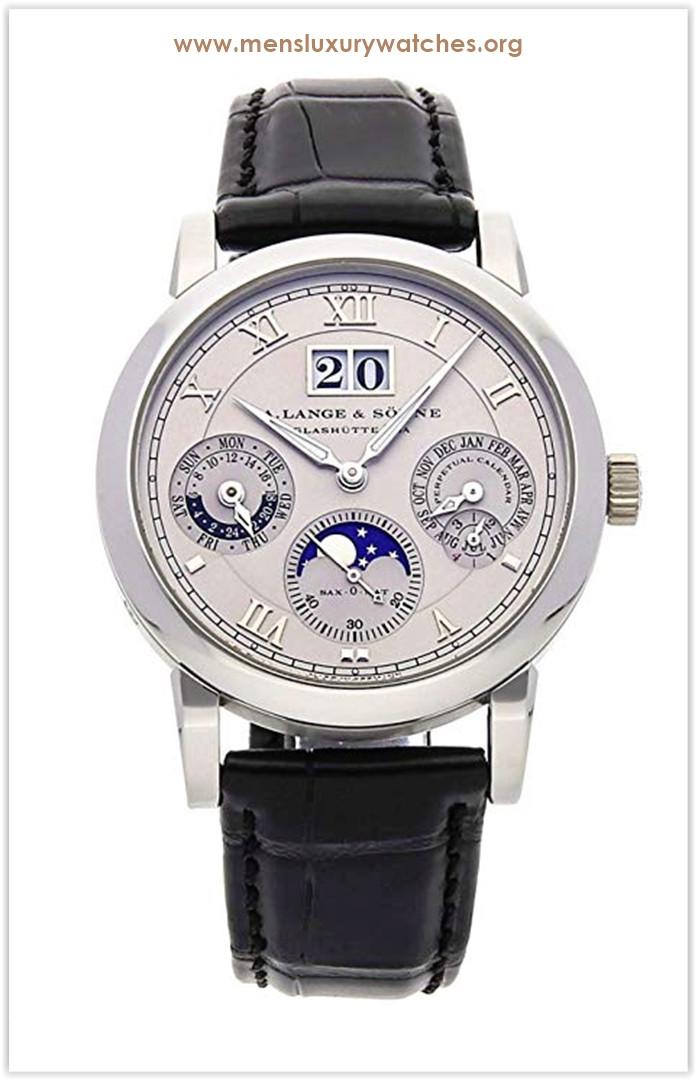 A. Lange & Sohne Langematik Perpetual Calendar Mechanical (Automatic) Grey Dial Men's Watch Price