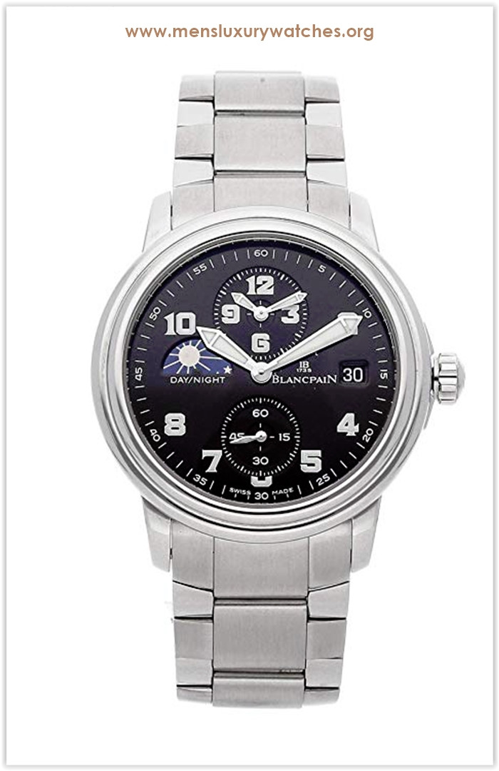 Blancpain Leman Mechanical (Automatic) Black Dial Men's Watch Price