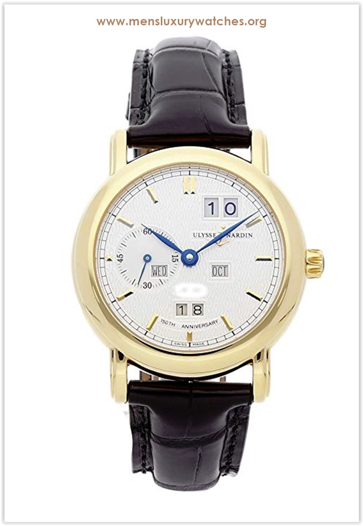Ulysse Nardin Ludwig Mechanical (Automatic) Silver Dial Men's Watch the best price