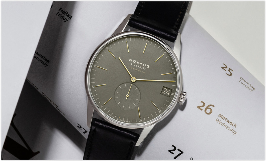 The Nomos Online Watch Store