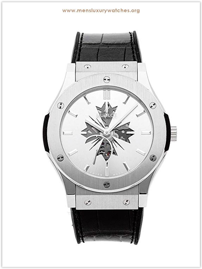 Hublot Classic Fusion Mechanical Silver Dial Men's Watch