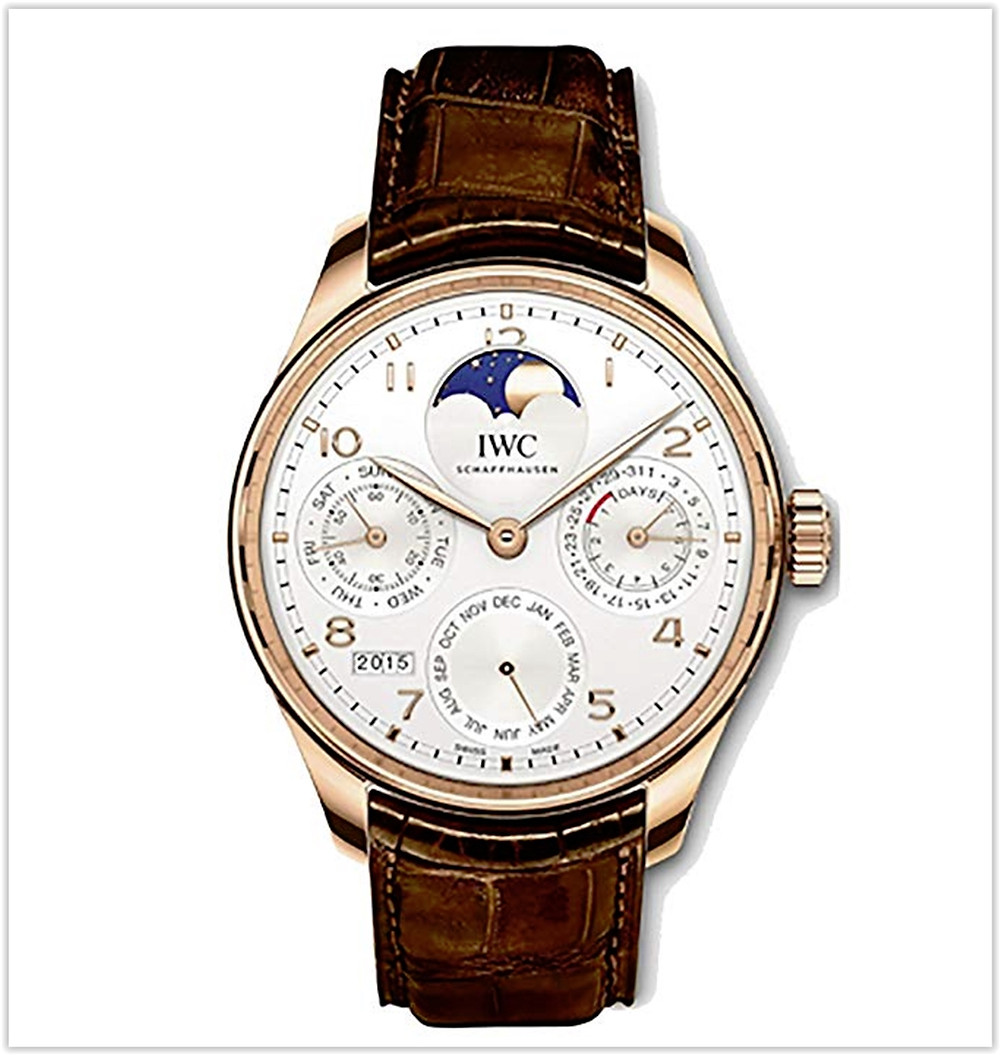 IWC Portugieser Perpetual Calendar Moonphase Automatic IW503302 Men's Watch best price