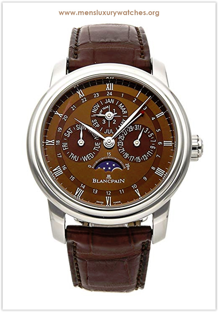Blancpain Le Brassus Mechanical (Automatic) Brown Dial Men's Watch Price