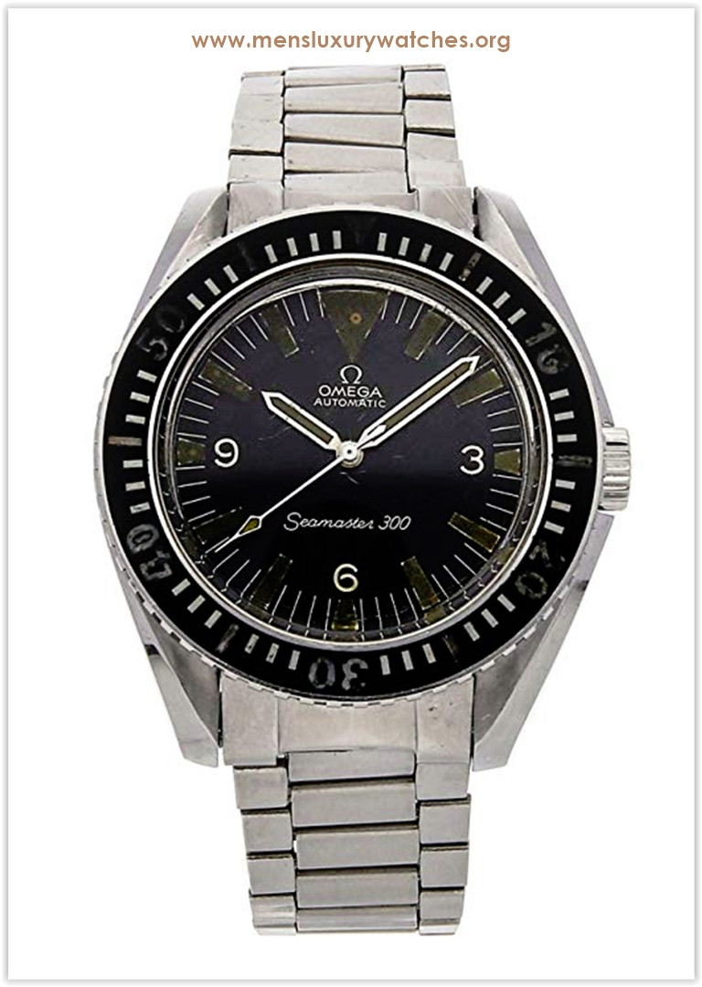 Omega Seamaster Mechanical (Automatic) Black Dial Men's Watch Price