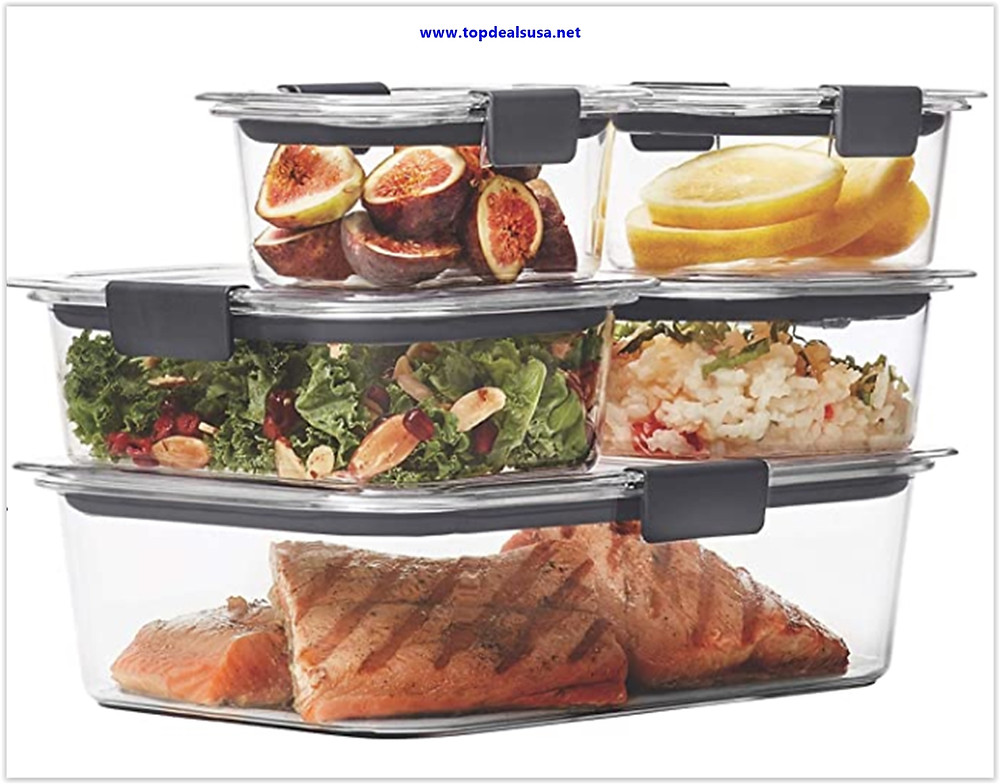 Best buy Rubbermaid Brilliance Leak-Proof Food Storage Containers with Airtight Lids