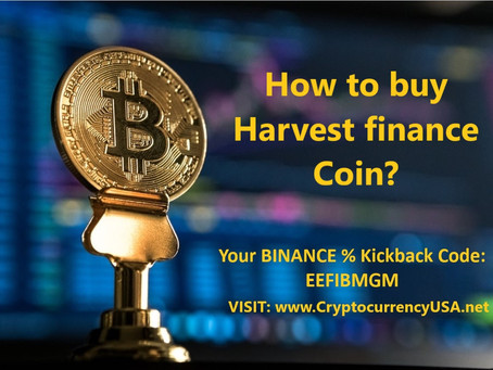 How to buy Harvest finance Coin?