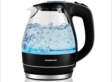 Ovente Electric Hot Water Glass Kettle 1.5 Liter Review