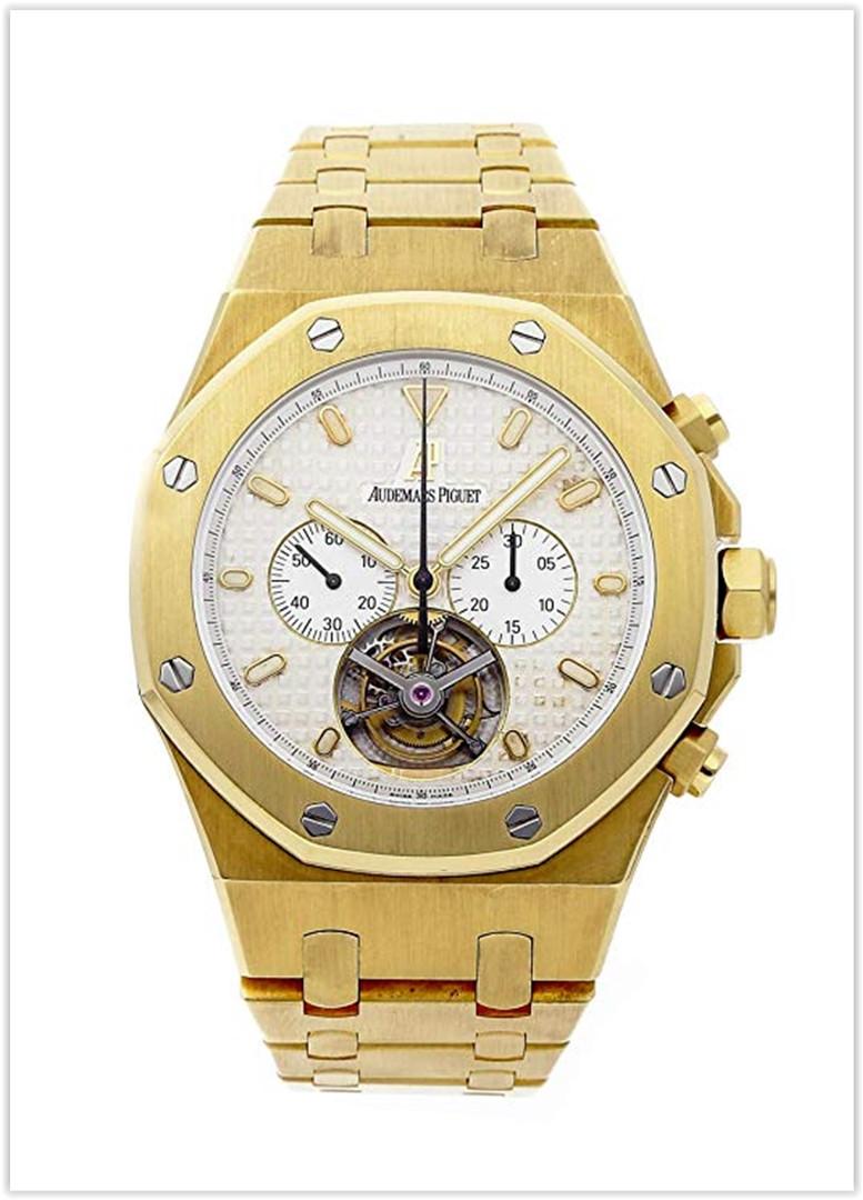 Audemars Piguet Royal Oak Mechanical (Hand-Winding) Silver Dial Men's Watch price for the new year 2019
