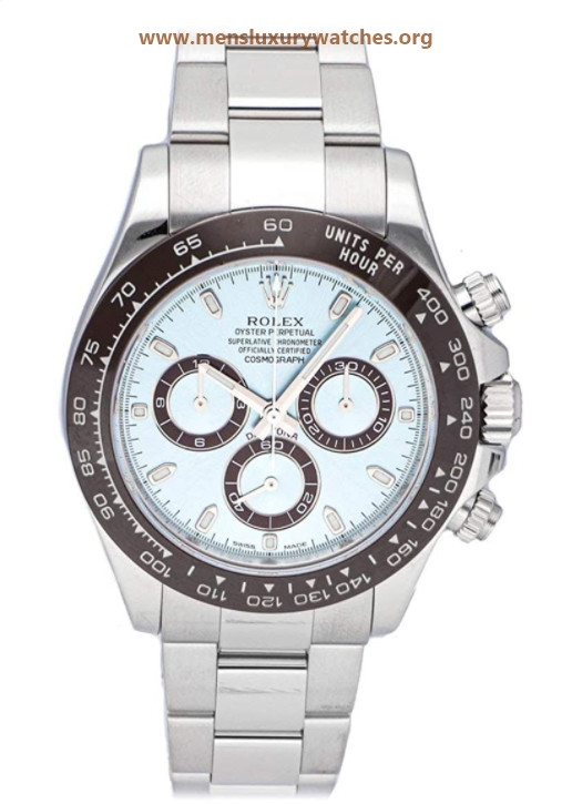 Rolex Daytona Automatic Blue Dial Watch 116506-0001 (Pre-Owned)