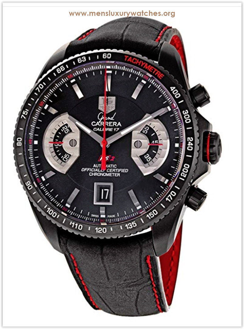 TAG Heuer Grand Carrera Automatic Chronograph Red Men's Watch Price