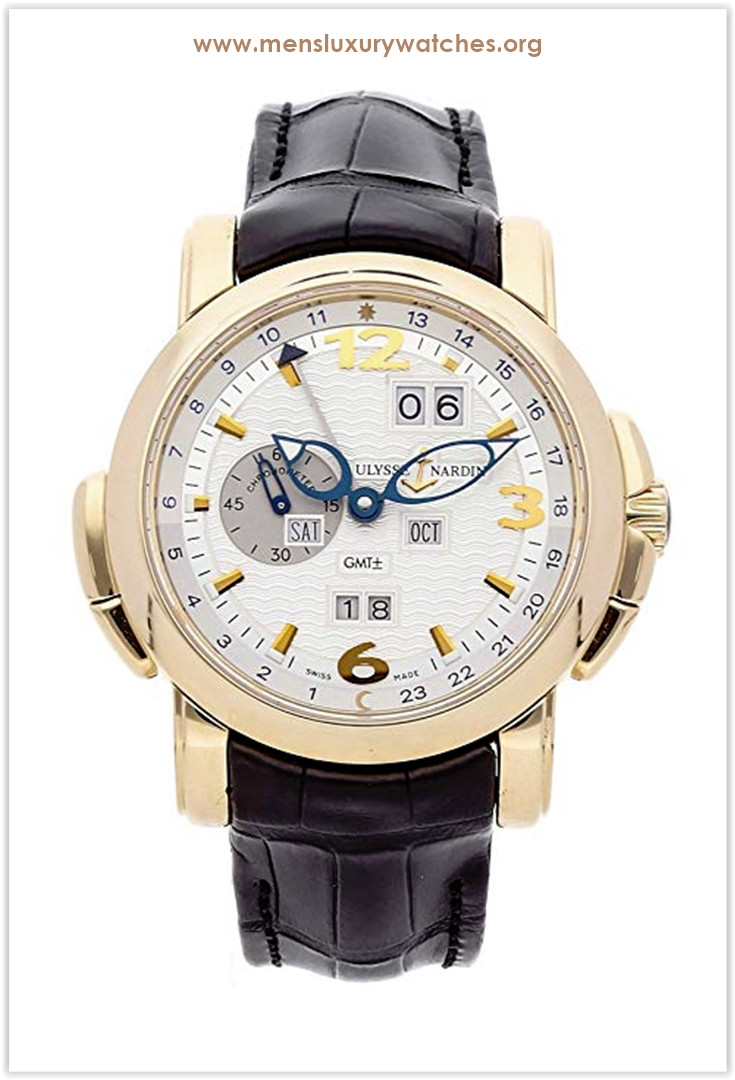 Ulysse Nardin GMT Perpetual Mechanical (Automatic) Silver Dial Men's Watch the best price