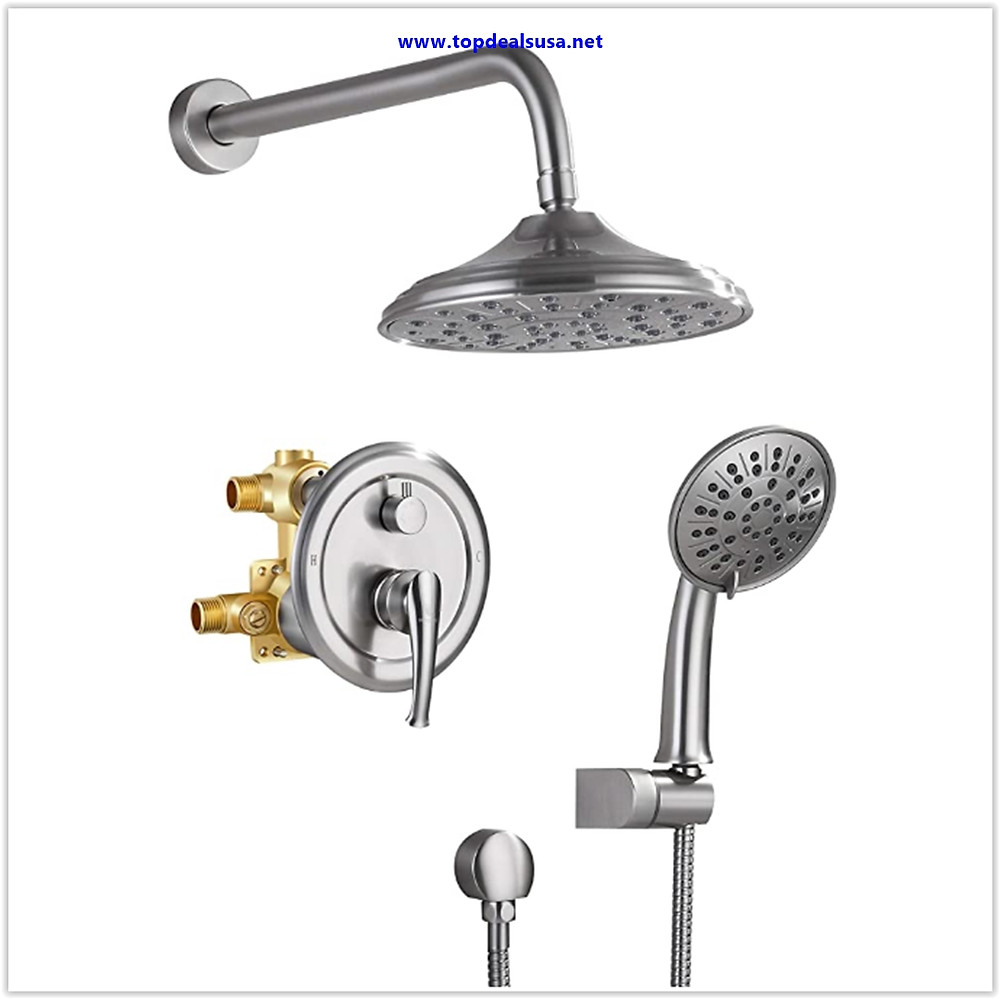 Best buy Shower System, Wall Mounted Shower Faucet Set for Bathroom