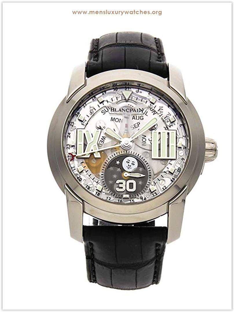 Blancpain L-Evolution Mechanical Skeletonized Dial Men's Watch