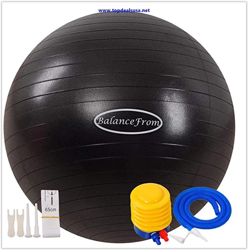 Best buy BalanceFrom Anti-Burst and Slip Resistant Exercise ( Yoga ) Ball