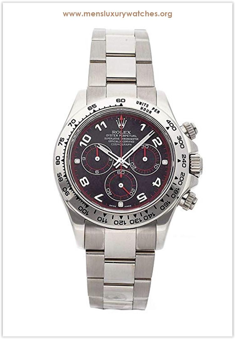 Rolex Daytona Mechanical (Automatic) Black Dial Men's Watch Price