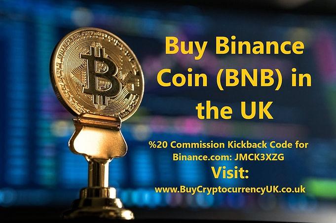 Buy Binance Coin (BNB) in the UK
