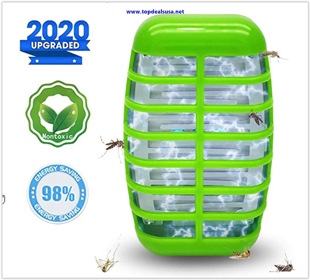 Best Buy Bug Zapper Mosquito Killer Lamp- 2020 New Electronic Insect Trap Night Light Pest Control Repellent