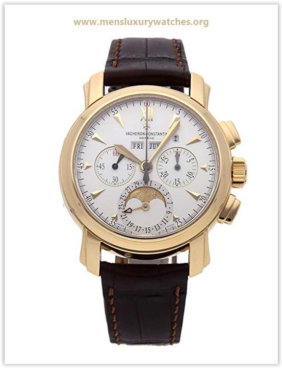Vacheron Constantin Malte Mechanical (Hand-Winding) Silver Dial Men's Watch Price May 2019