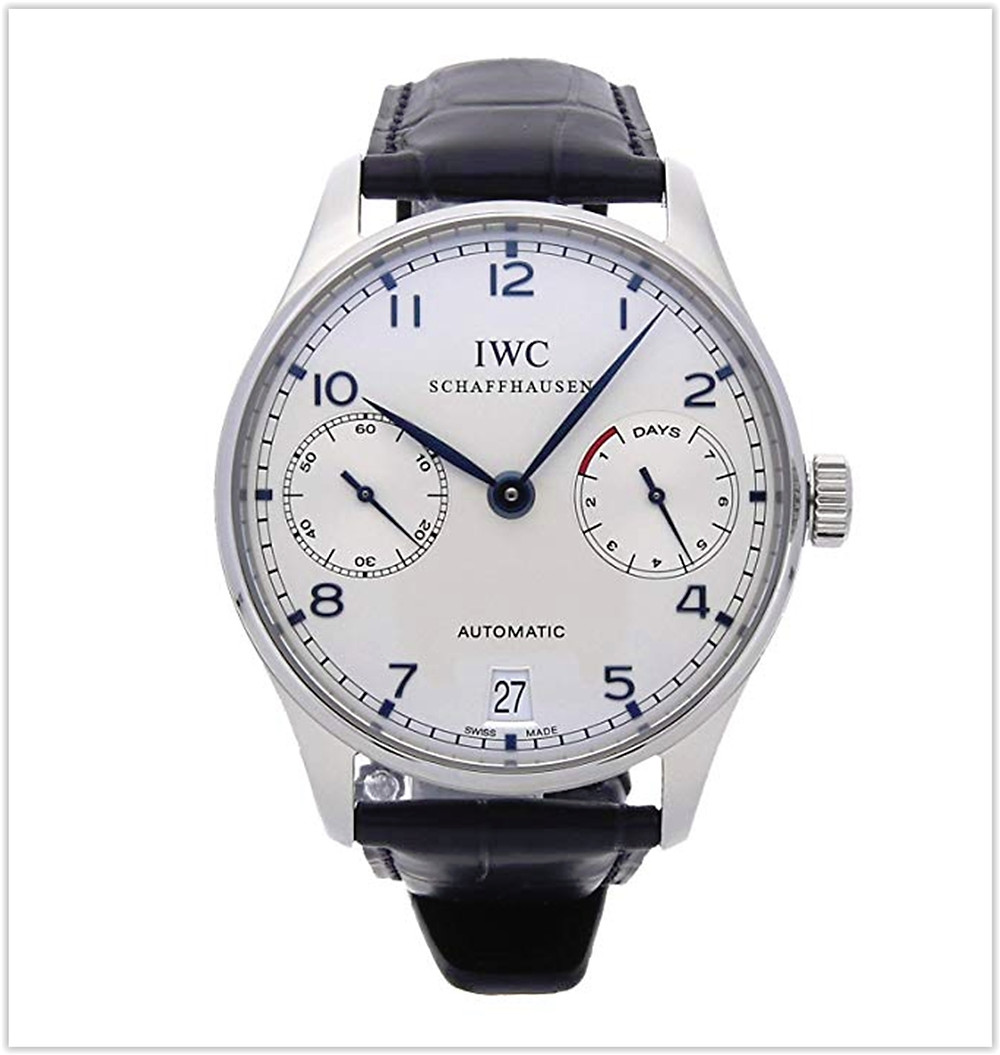 IWC Portuguese Mechanical (Automatic) Silver Dial Men's Watch 5001-07 best price