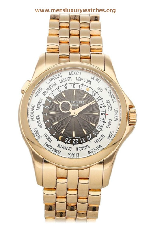 Patek Philippe Complications Mechanical(Automatic) Silver Brown Dial Watch 51301R-001 (Pre-Owned)