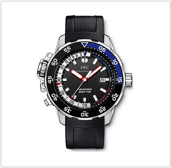 IWC Aquatimer Deep Two Mens Watch