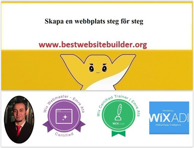 Skapa en webbplats steg för steg