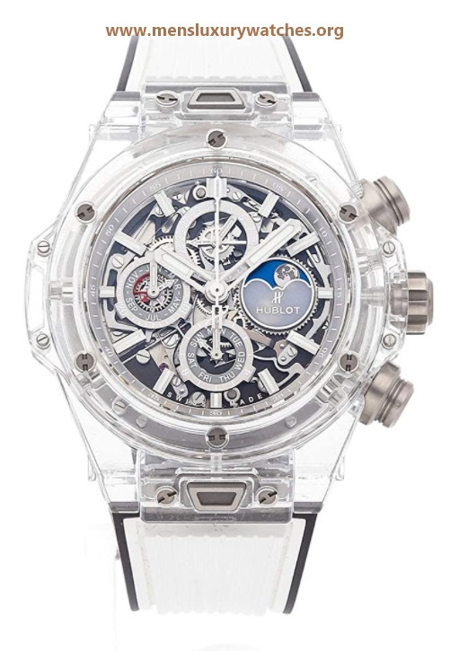 Hublot Big Bang Mechanical(Automatic) Skeletonized Dial Watch 406.JX.0120.RT (Pre-Owned)
