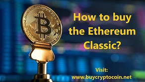 How to buy the Ethereum Classic?
